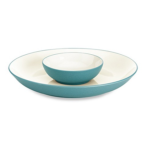 Noritake® Colorwave Chip and Dip in Turquoise