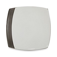 Mikasa® Ridge Square Platinum Dinner Plate