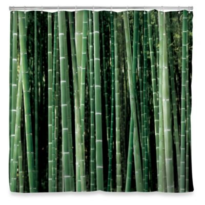 Kikkerland® Bamboo Shower Curtain