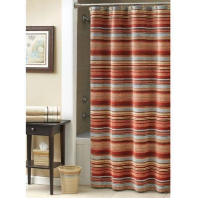 Southwest Fabric Shower Curtain