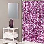 Trina Turk® Ikat 72-Inch x 72-Inch Shower Curtain in Purple