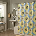 Sunflowers Yellow/Blue 70-Inch x 72-Inch Shower Curtain