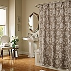 Melody 72-Inch x 72-Inch Shower Curtain in Taupe