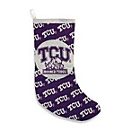 Texas Christian University Horned Frogs Tapestry Holiday Stocking