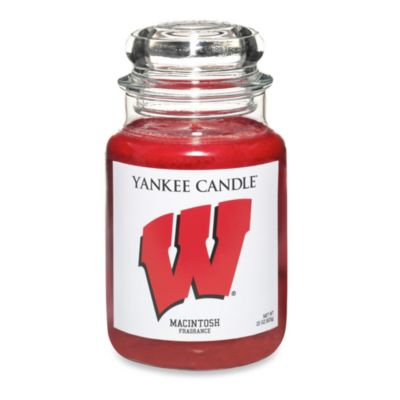 Yankee Candle® University of Wisconsin Large Jar Fan Candle