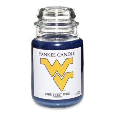Yankee Candle® West Virginia University Large Jar Fan Candle