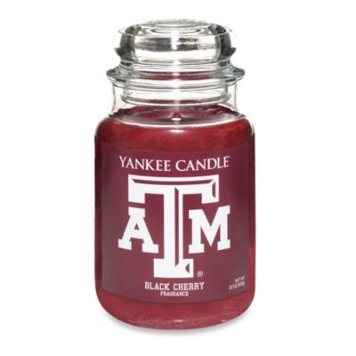 Texas A&M University Large Jar Fan Candle