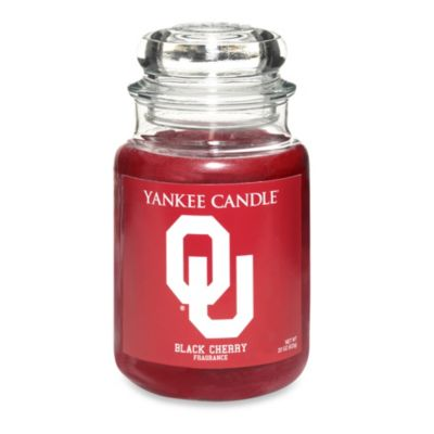 Yankee Candle® University of Oklahoma Large Jar Fan Candle