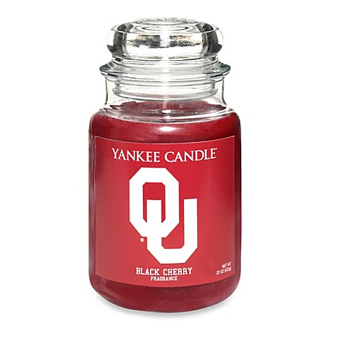 Buy Yankee Candle 174 University Of Oklahoma Large Jar Fan