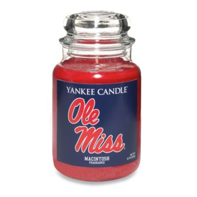 Yankee Candle® University of Mississippi Large Jar Fan Candle
