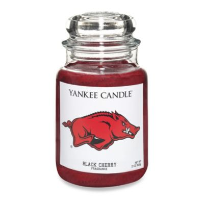 Yankee Candle® University of Arkansas Large Jar Fan Candle