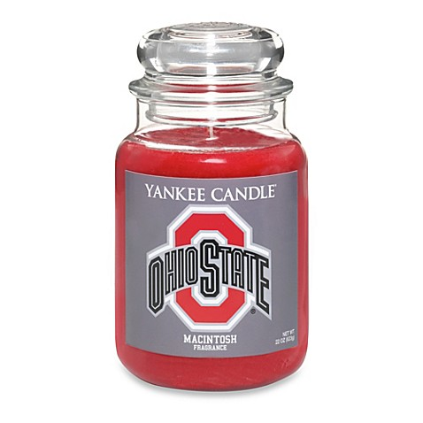 yankee candle ohio state university large jar fan candle