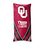 University of Oklahoma Folding Body Pillow