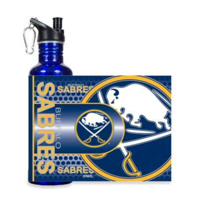 Buffalo Sabres 26-Ounce Stainless Steel Water Bottle with Wrap Logo