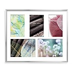 Swing Design™ Vienna 5-Photo Collage Frame in Silver
