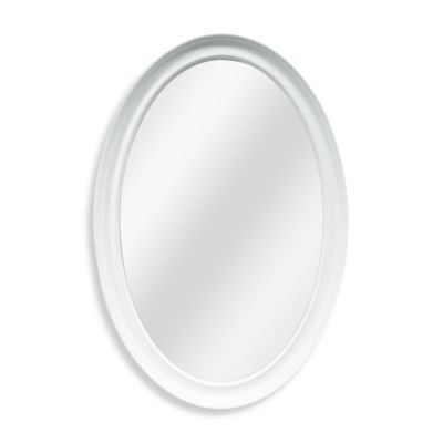 Decorative 21-Inch x 31-Inch Oval Mirror