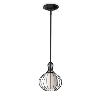 Feiss® Urban Renewal 1-Light Mini Pendant in Black