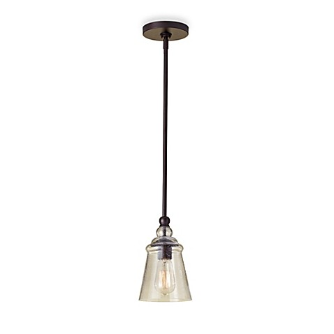 Feiss Oil Rubbed Bronze Mini Pendant Light Bed Bath Beyond