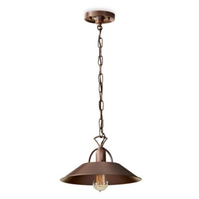 Feiss® Urban Renewal 1-Light Mini Pendant in Antique Copper