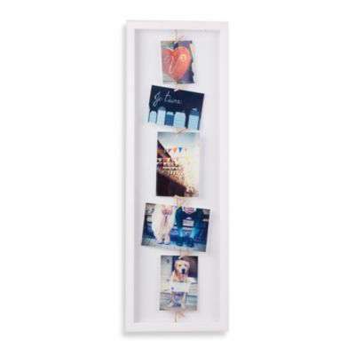 Umbra® Clothesline Flip Photo Display