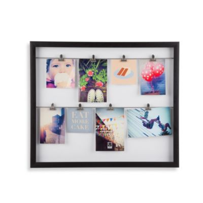 Umbra® Clipline Photo Display in Black