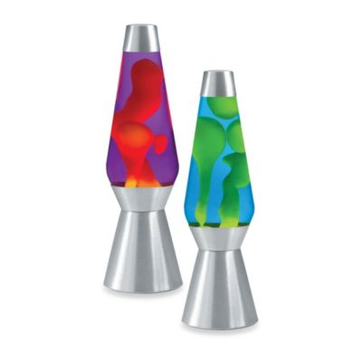 Lava Lite® Grande 27-Inch Lava Lamp in Yellow/Blue