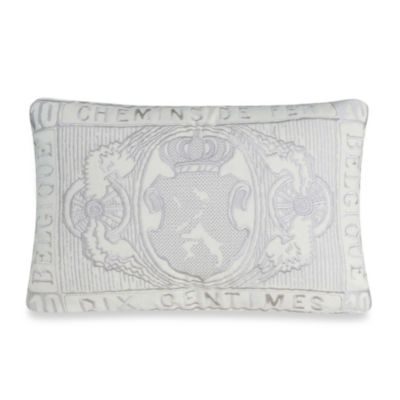 upstairs by Dransfield & Ross Antigua Oblong Throw Pillow