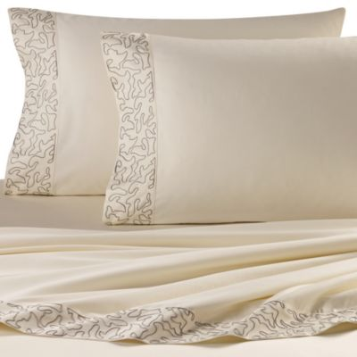 upstairs by Dransfield & Ross Antigua Sheet Set