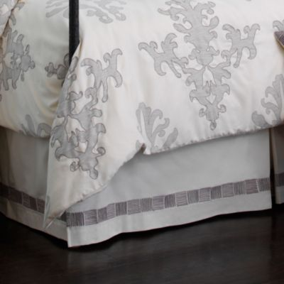 upstairs by Dransfield & Ross Antigua California King Bed Skirt