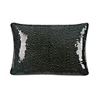 Blissliving® Home 12-Inch x 18-Inch Sasha Pillow in Black