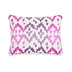 Blissliving® Home Ikat Toss Pillow in Orchid