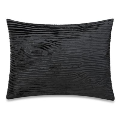 The Tallulah Collection by Kevin O'Brien Jardine Woodgrain Oblong Toss Pillow