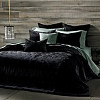 The Tallulah Collection by Kevin O'Brien Cirrus Coverlet Sham in Charcoal