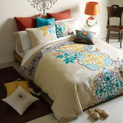 Blissliving® Home Shangri-La Full/Queen Reversible Duvet Set