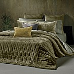 The Tallulah Collection by Kevin O'Brien Cirrus Coverlet Sham in Olive