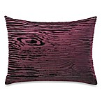 The Tallulah Collection by Kevin O' Brien Khaya Oblong Toss Pillow in Wood Grain