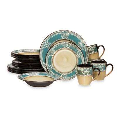 Teal Everyday Dinnerware