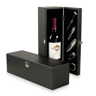 Red Vanilla 5-Piece Wine Accessory Set With Box