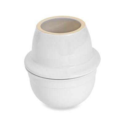 Emile Henry 4-Inch Butter Pot in White