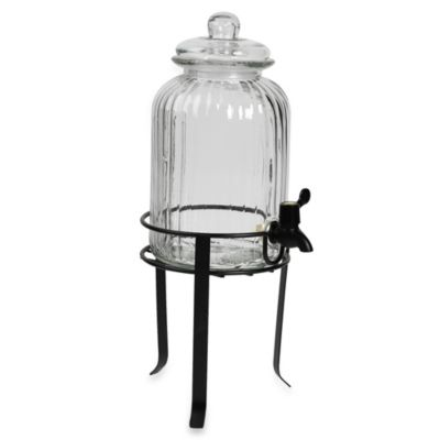 Glass Drink Dispenser