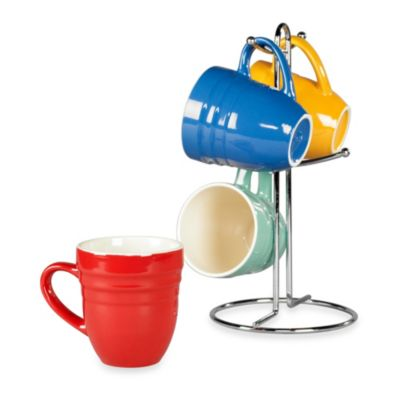 Tabletops Unlimited® 5-Piece Retro Mug Tree