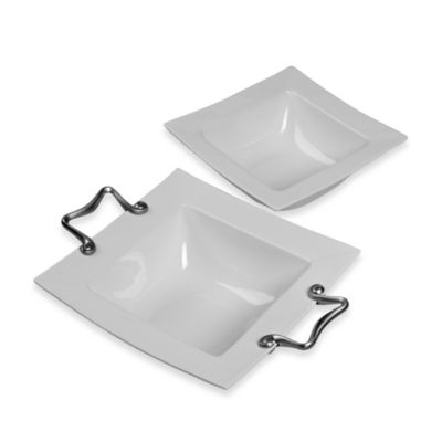 Tabletops Unlimited® Catalina Square Bowls
