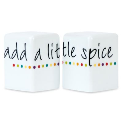 Fitz and Floyd® Color Salt and Pepper Shaker Set