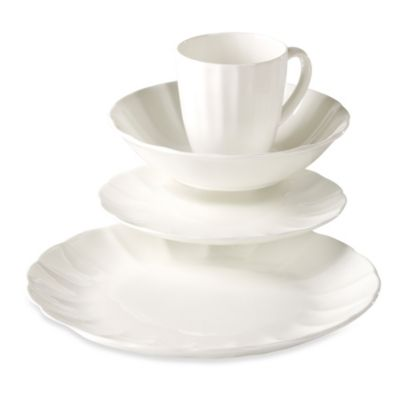 Tabletops Unlimited® Bellflower Bone China 16-Piece Set