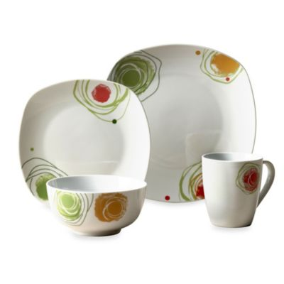 Tabletops Unlimited® Aracdia Porcelain 16-Piece Set