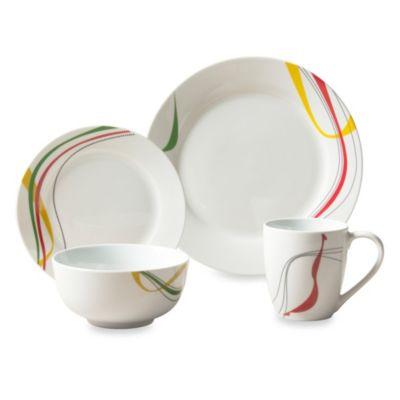 Tabletops Unlimited® Jackson Round Porcelain 16-Piece Set