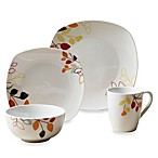 Tabletops Unlimited® Brooke Square Porcelain 16-Piece Set