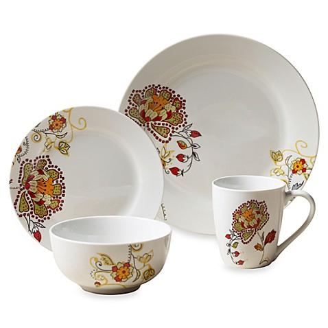 Tabletops Unlimited 174 Avalon Round Porcelain 16 Piece Set
