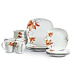 Tabletops Unlimited® Lily Square Porcelain 16-Piece Set