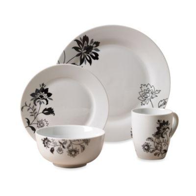 Tabletops Unlimited® Rebecca Round Porcelain 16-Piece Set